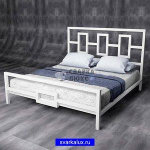 Купить кровать двухспальную ЛОФТ на металлическом каркасе изготовление производство Сварка Люкс Екатеринбург
