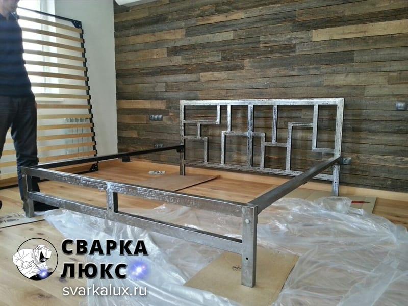 Купить заказать кровать ЛОФТ изготовление производство Сварка Люкс Екатеринбург