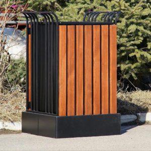 Купить заказать изготовление производство металлических урн для мусора Сварка Люкс Екатеринбург