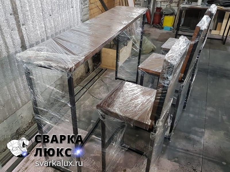 Изготовление мебели в стиле ЛОФТ LOFT Екатеринбург Сварка Люкс