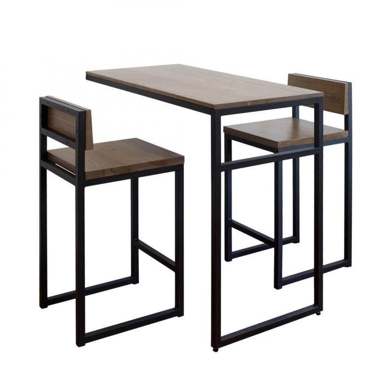 Купить, заказать комплект мебели ЛОФТ столовый обеденный кухонный Сварка Люкс Екатеринбург